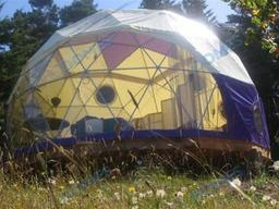 Inspiration for Evie's Dome Home :: J.J. Johnson, Author :: Frequently Asked Questions (photo c. Pacific Domes)